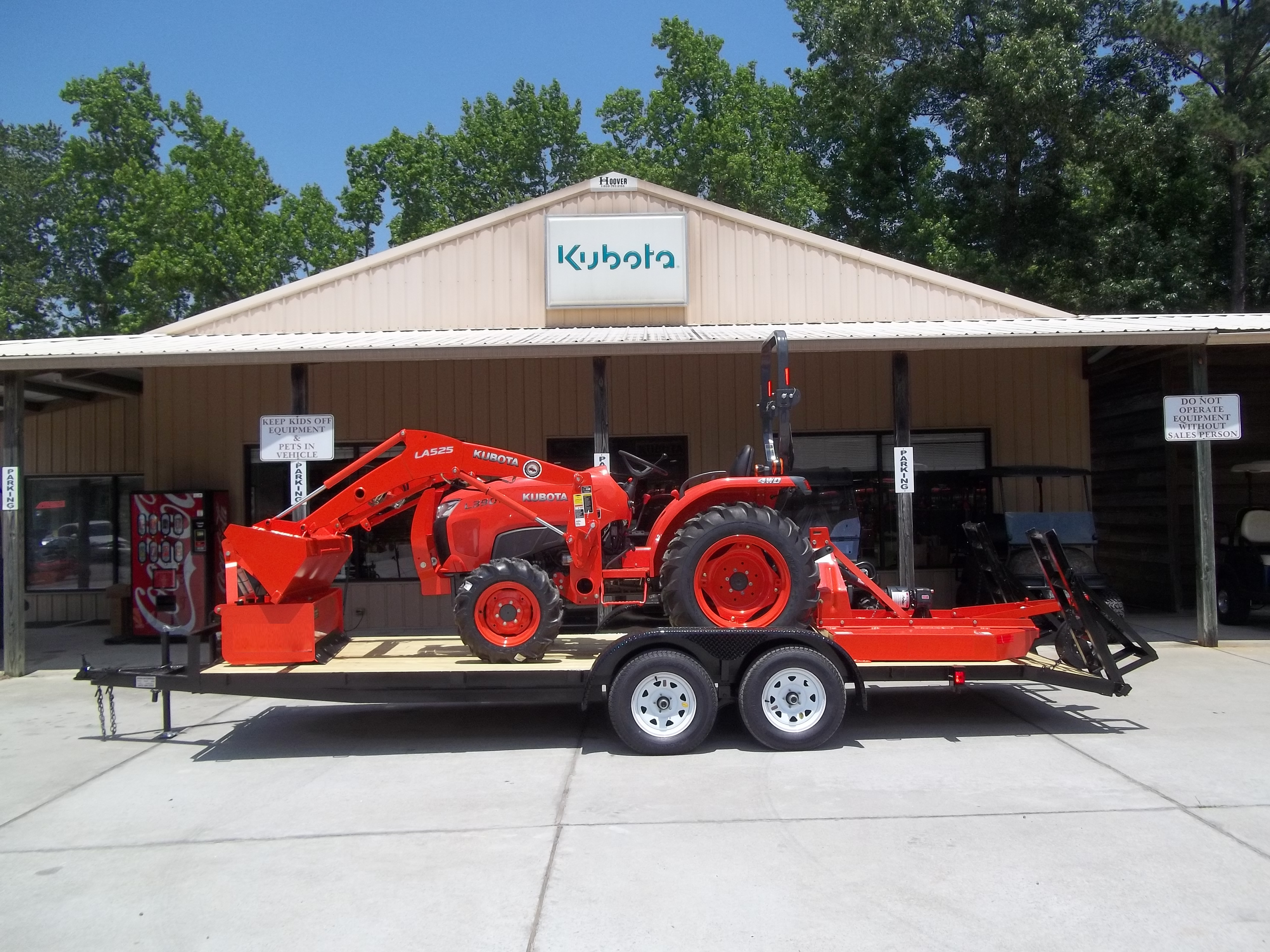 Kubota tractors for sale in kentucky - New Kubota L3301dt Tractor Package 1