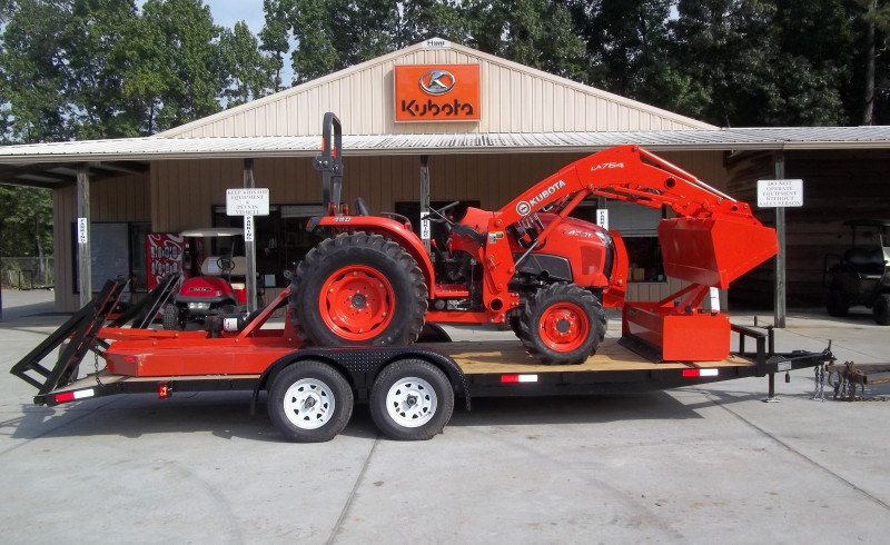 New Kubota L4701HST -TRACTOR PACKAGE 8