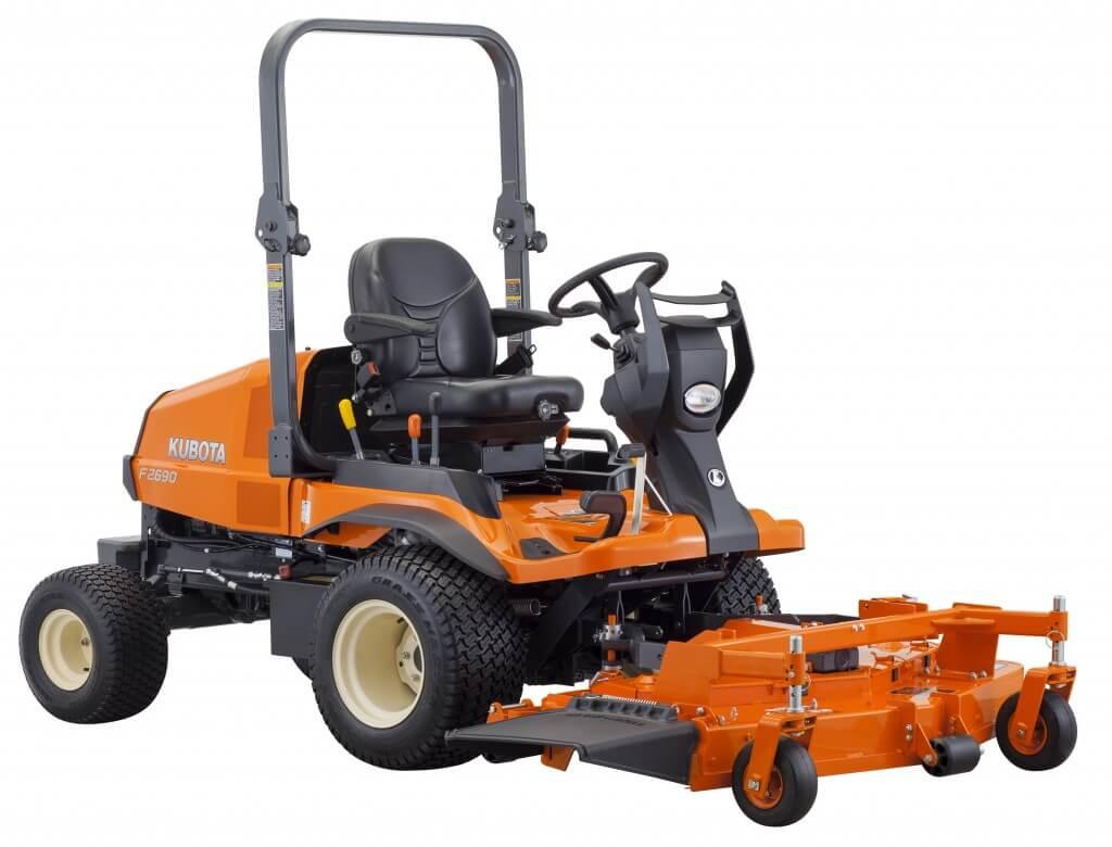 Kubota Front Mounted Blade : New kubota f mower steen enterprises