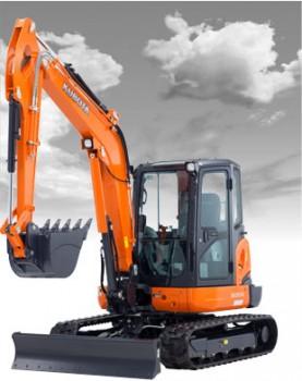 New Kubota KX057-4 Excavator