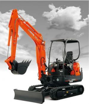 New Kubota KX91-3S2 Excavator