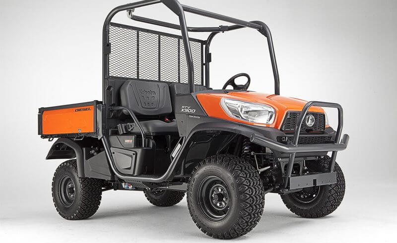 new kubota rtv-x900 worksite orange