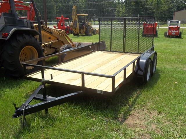 "NEW 6'10"" X 12' Dual Axle Trailers"