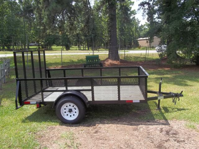 NEW 6 ' X 10' Mesh Side Trailers