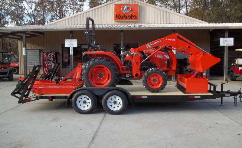 New KUBOTA L2501HST PACKAGE #37