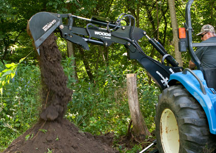 New Woods BH80-X Backhoes