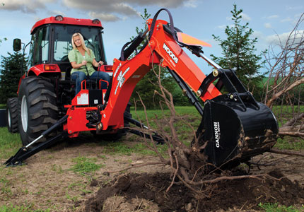 New Woods BH90-X Backhoes