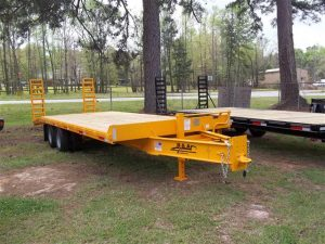 New B&A 25 ft 20K Flatbed Tag-A-Long Trailers