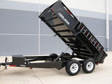New Bri-Mar DT612LP-LE-10 Dump Trailers