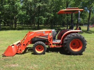 2010 Used Kubota L3940DT Tractor