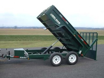 New Bri-Mar DT610LP-10 Dump Trailers