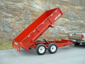 New Bri-Mar DT612LP-10 Dump Trailers