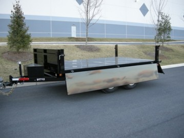 New Bri-Mar DT712-10-DP Dump Trailers