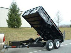 New Bri-Mar DT712LP-12 Dump Trailers