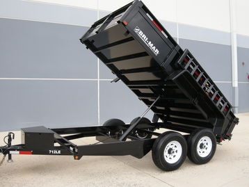 New Bri-Mar DT712LP-LE-10 Dump Trailers