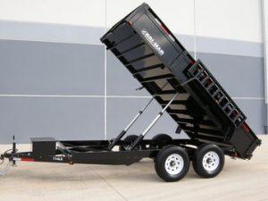 New Bri-Mar DT712LP-LE-14 Dump Trailers