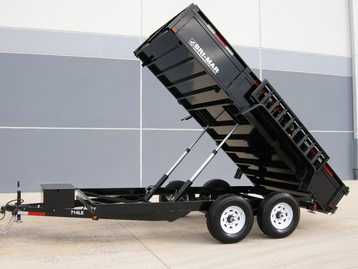 New Bri-Mar DT712LP-LE-14 Dump Trailers