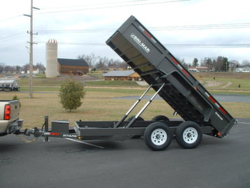 New Bri-Mar DT714LPHD-12 Dump Trailers