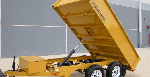 New Bri-Mar DTR610D-10 Dump Trailers