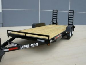 New Bri-Mar EH18-10LE Equipment Trailers