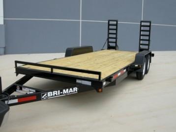 New Bri-Mar EH18-10LE Equipment Trailers