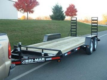 New Bri-Mar EH20-14-HD Equipment Trailers