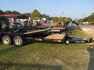 New B&A 20 FT 7 Ton Tilt Trailers