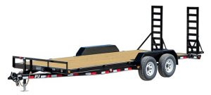 New PJ CE202 20 ft 10K Flatbed 5