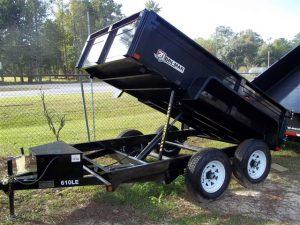 New Bri-Mar DT610LP-LE-10 Dump Trailers