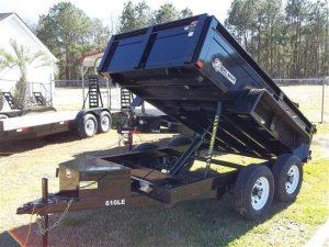 New Bri-Mar DT610LP-LE-10 Dump Trailers Steen Equipment
