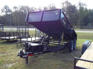 New Bri-Mar DT714LP-LE-14 Dump Trailers