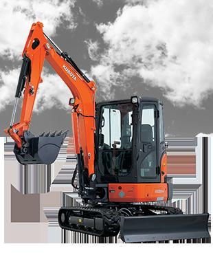 New Kubota KX033-4 Excavator