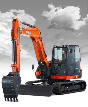 New Kubota KX080-4S Excavator