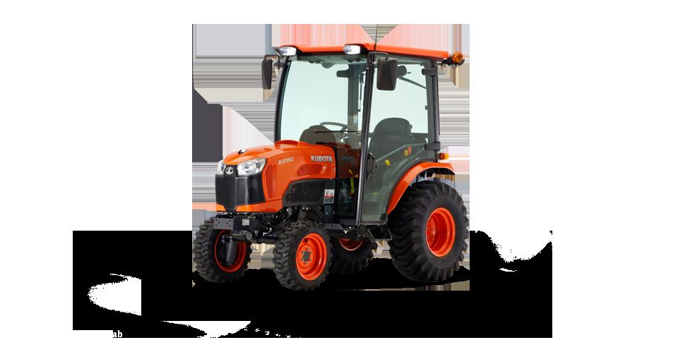New Kubota B3350 Cab Tractor