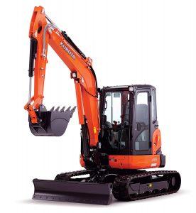 New Kubota U55-4 Excavator