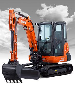 New Kubota KX040-4 Excavator