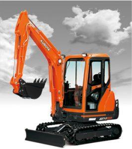 New Kubota KX71-3S Excavator