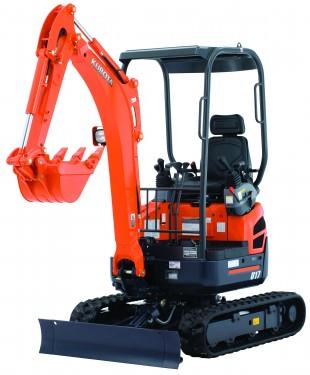 New Kubota U17 Excavator