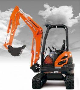 New Kubota U25S Excavator