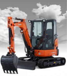 New Kubota U35-4 Excavator
