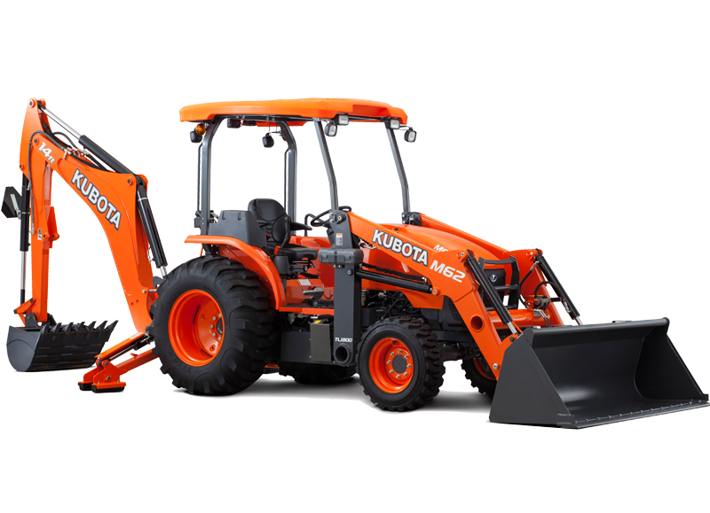 New Kubota M62 TLB