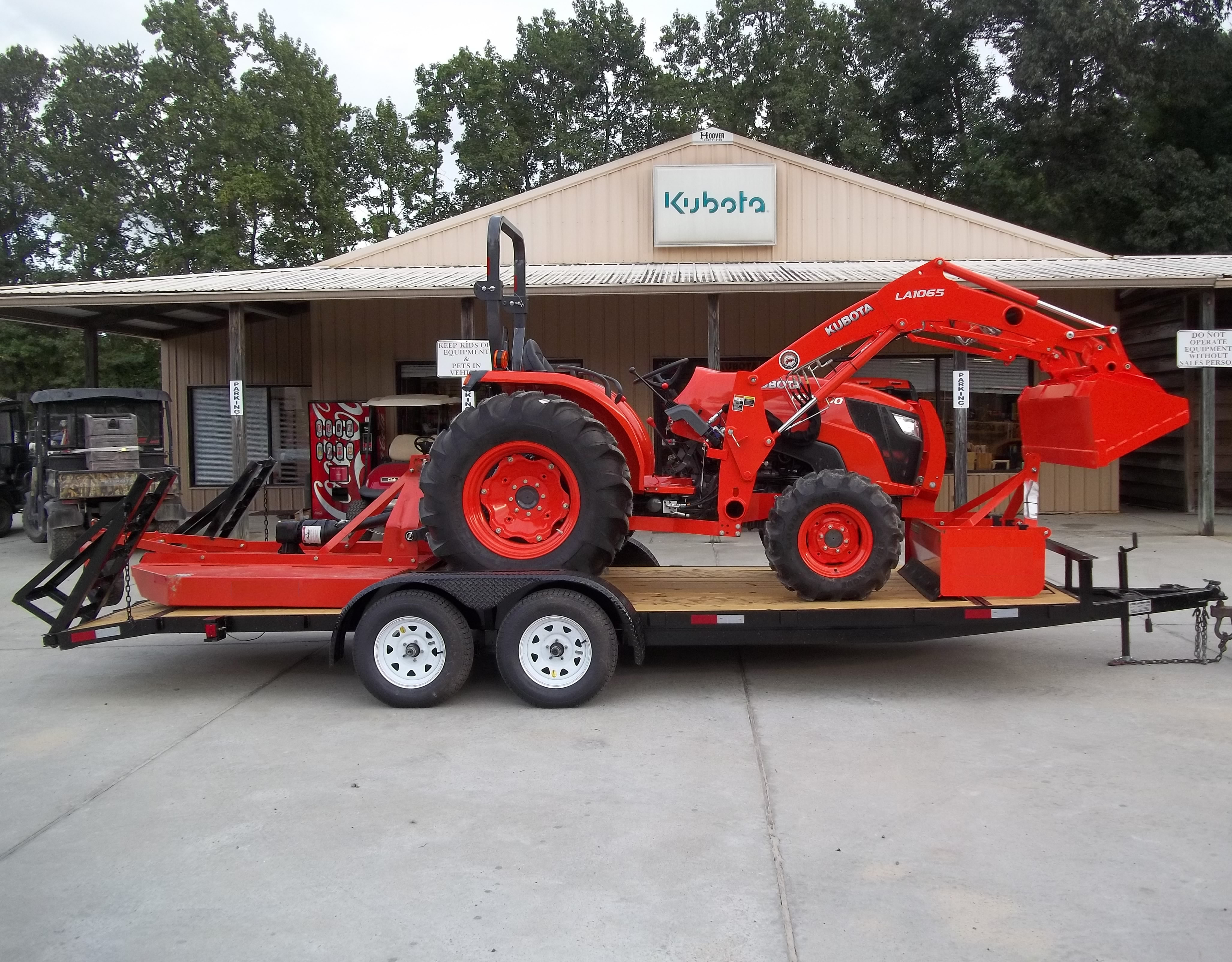 New Kubota MX5200DT TRACTOR PACKAGE 11