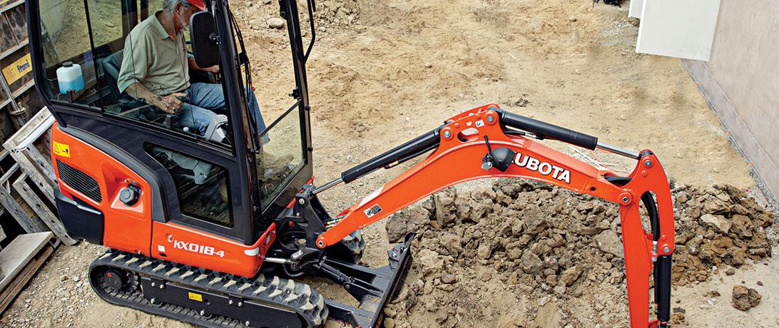 Kubota Compact Excavators