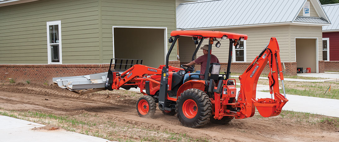 Kubota Tractor Loader Backhoe