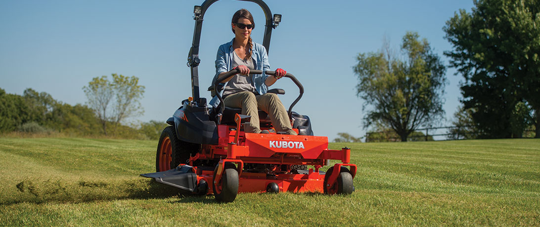 Kubota Zero Turn Mowers