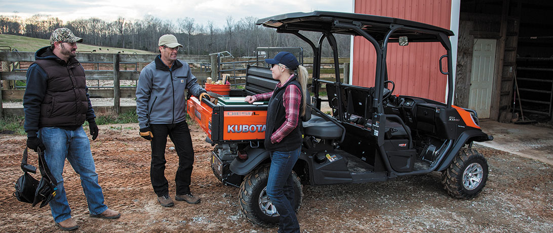 Kubota Full-Size Utility Vehicles