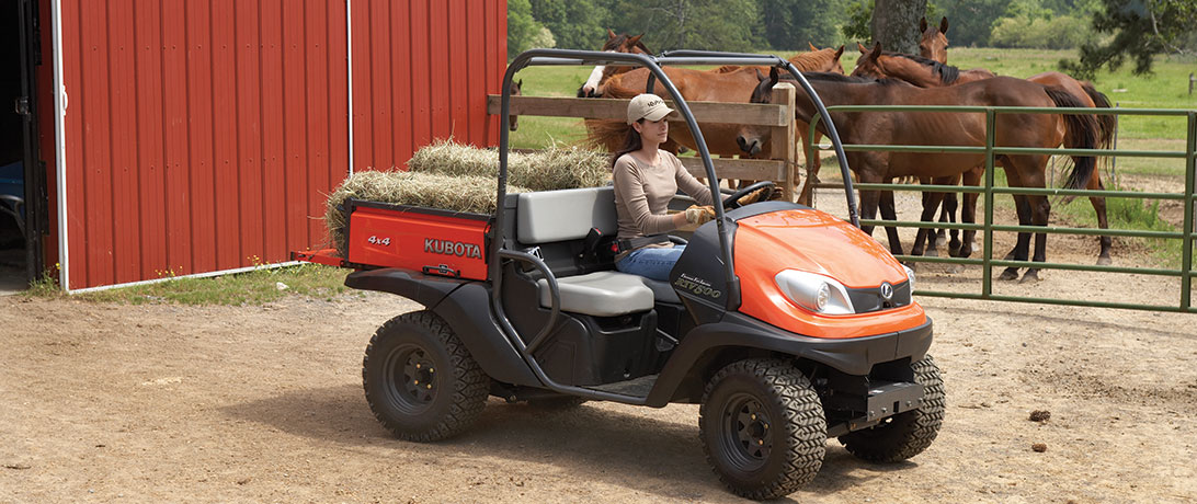 Kubota Mid-Size Utility Vehicles