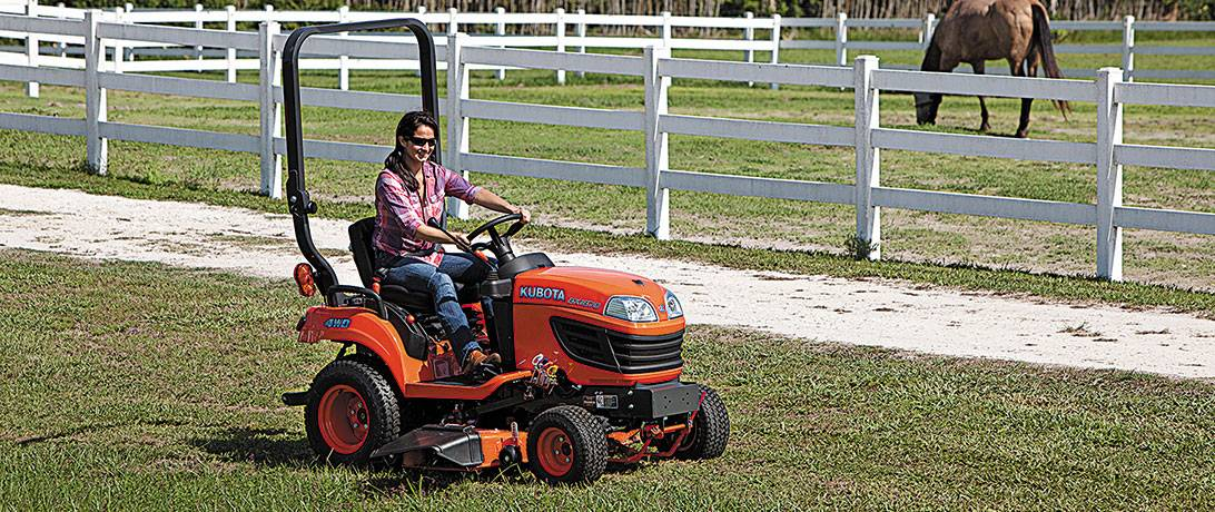 New Kubota Equipment