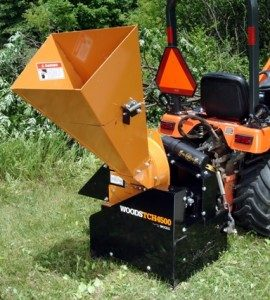 New Woods TCH4500 Chippers-Shredders